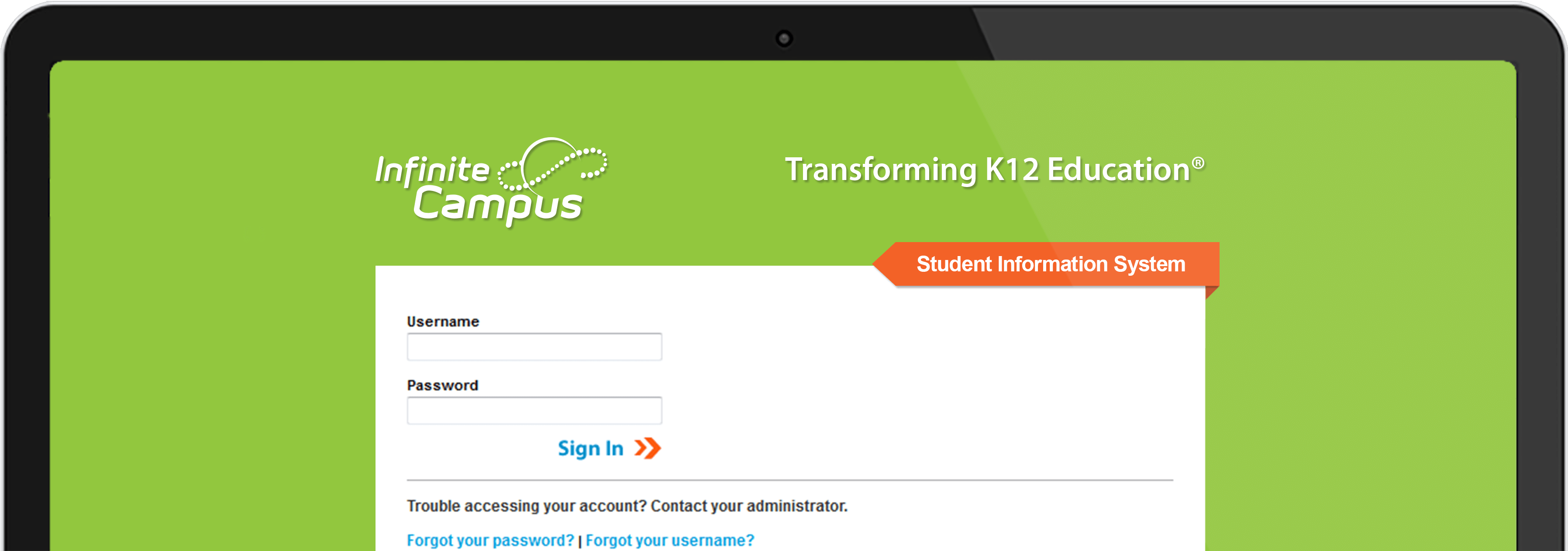 Student Information System · Infinite Campus